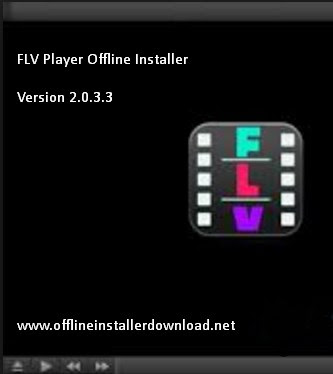 FLV player offline installer