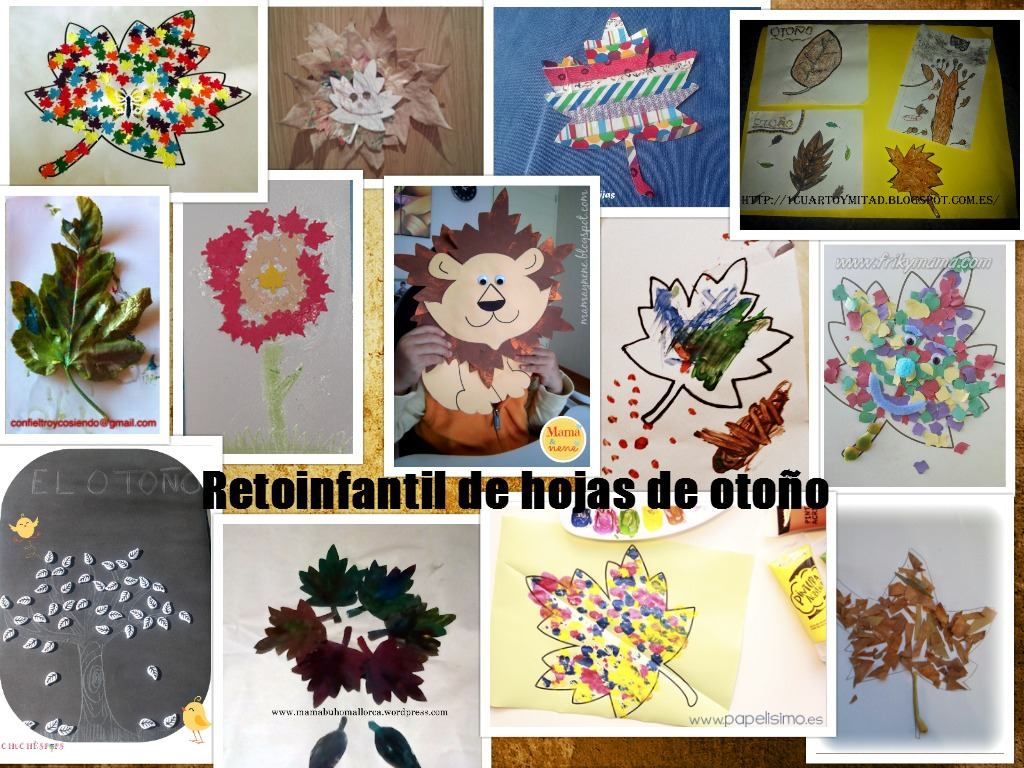 Otono aprender manualidades es for Manualidades decoracion infantil