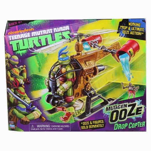 TOYS : JUGUETES - TORTUGAS NINJA   Mutagen Ooze Drop Copter : helicóptero   Teenage Mutant Ninja Turtles Mutant Ooze Drop Copter  Producto Oficial | A partir de 4 años
