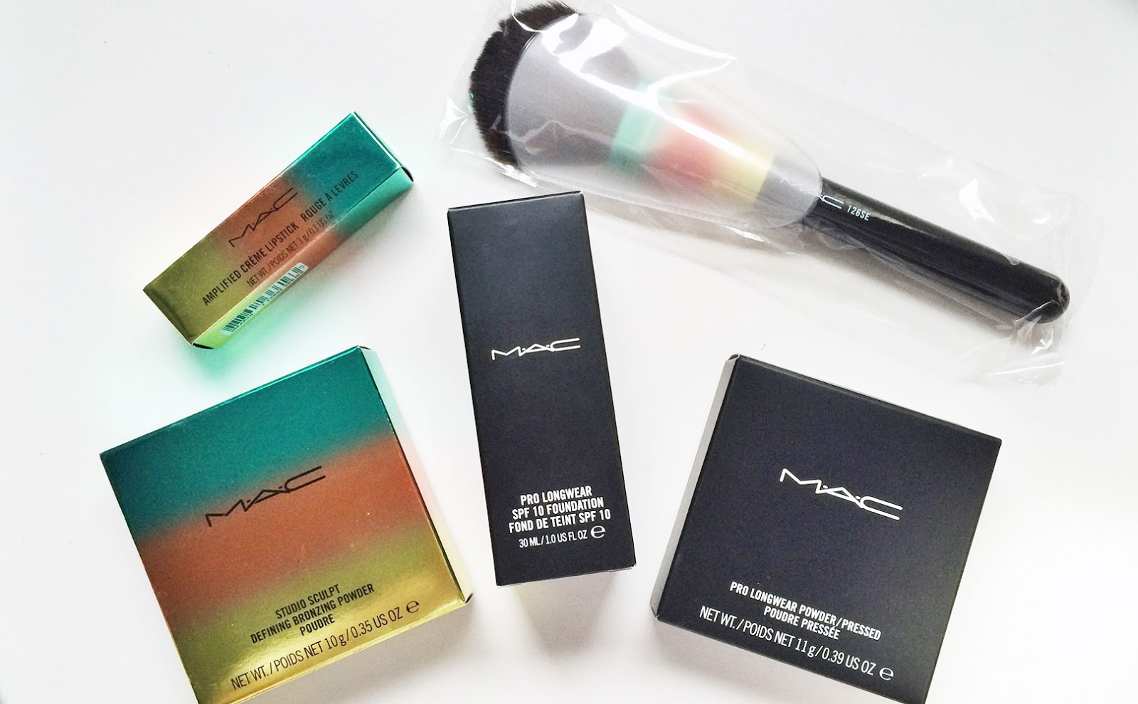 MAC Wash and Dry Collection Review Swatches