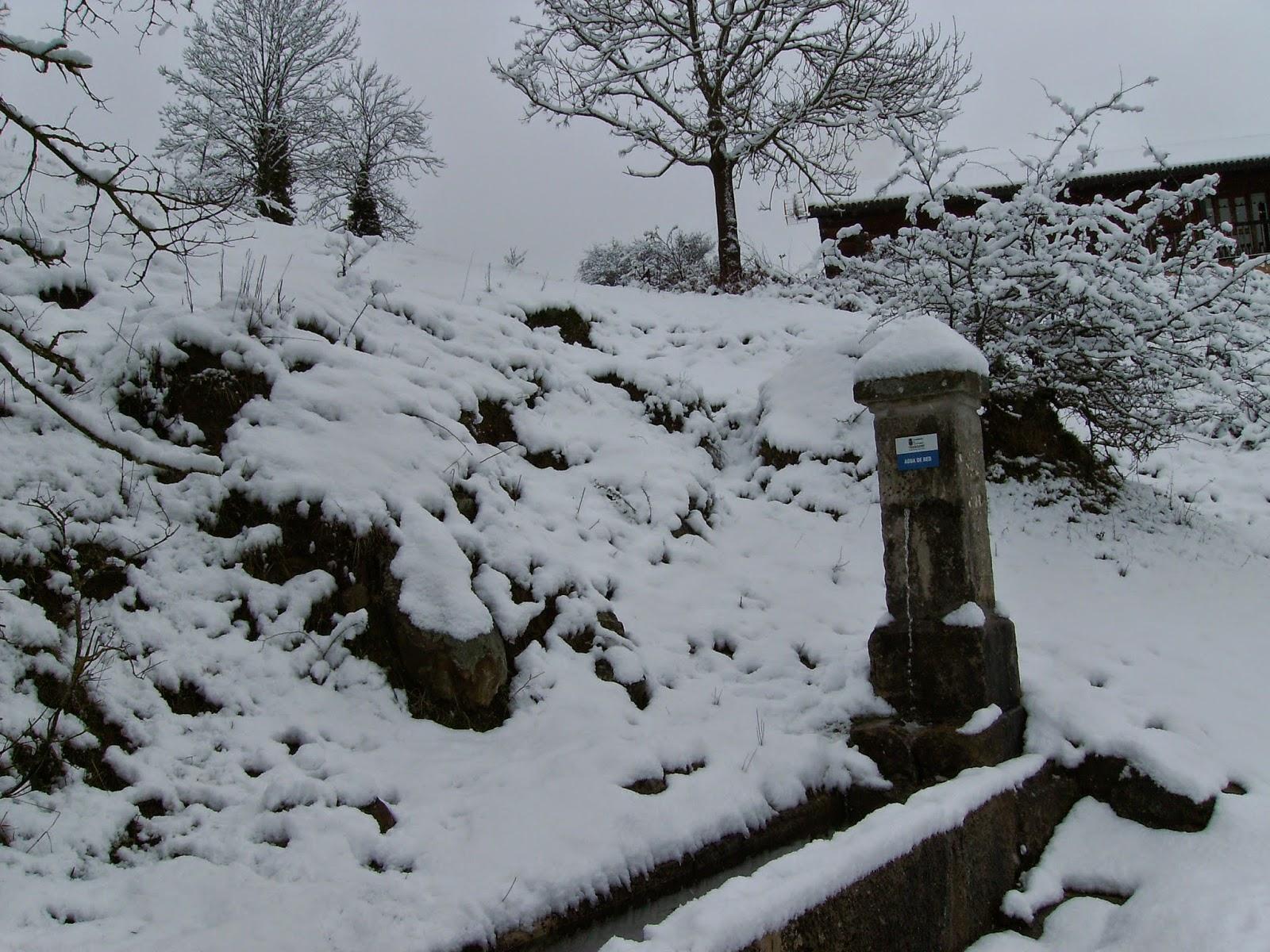 Horna registra la primera nevada del invierno