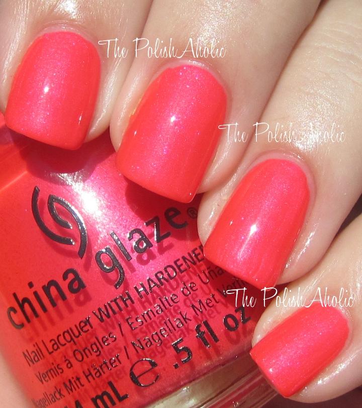 The PolishAholic: China Glaze Summer 2012 Summer Neons Collection ...