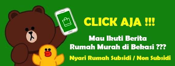 TERBARU! Info Rumah Murah Bekasi - LINE