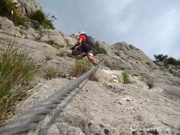 Klettersteig Che Guevara : Klettersteig ferata ernesto che guevara tour