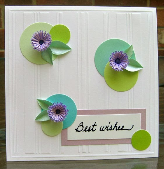 quilled fringed flower tutorial