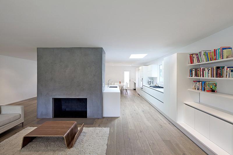 Vivienda minimalista en california por dan brunn dise o - Diseno interior minimalista ...