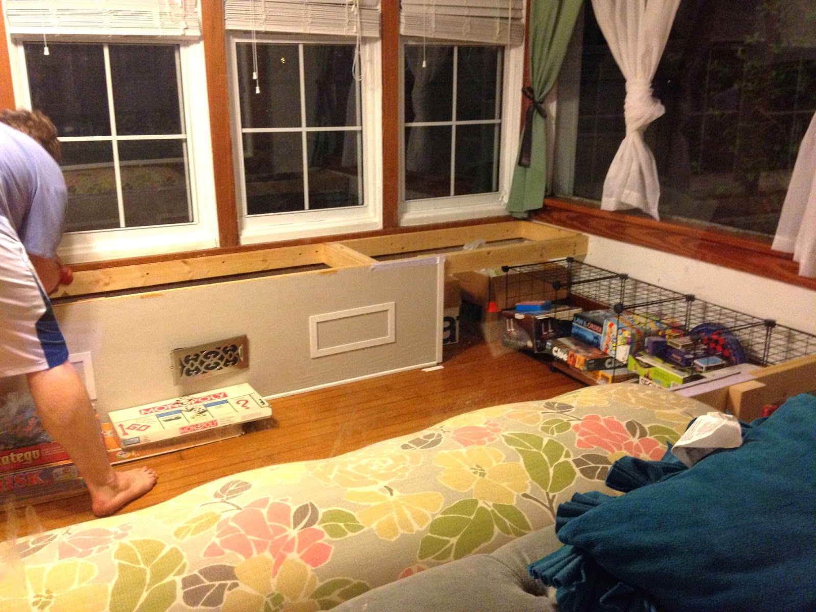 Ck And Nate Header Sunroom Changes Window Seat