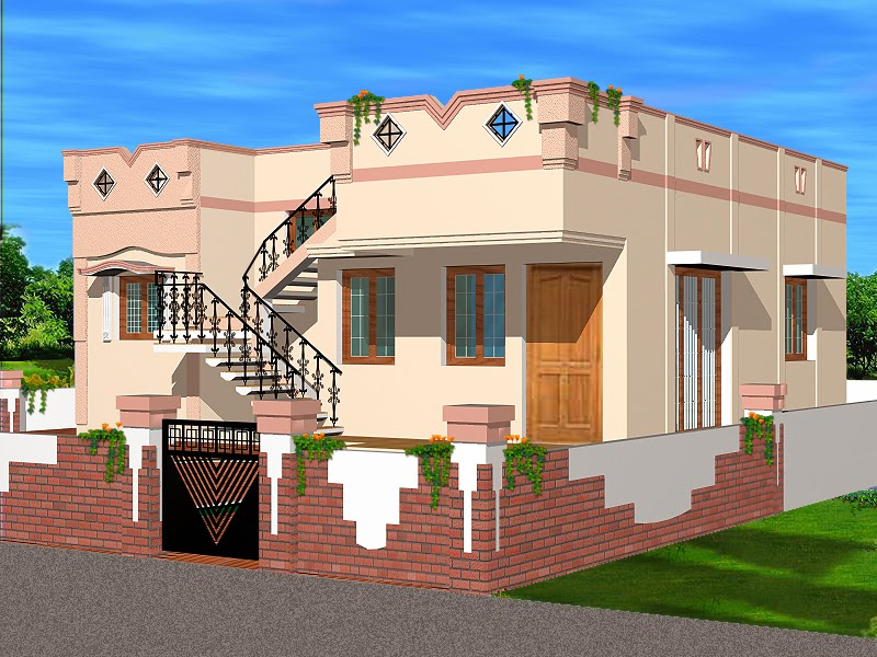 Indian Homes House Plans 755 Sq Ft Interior Design