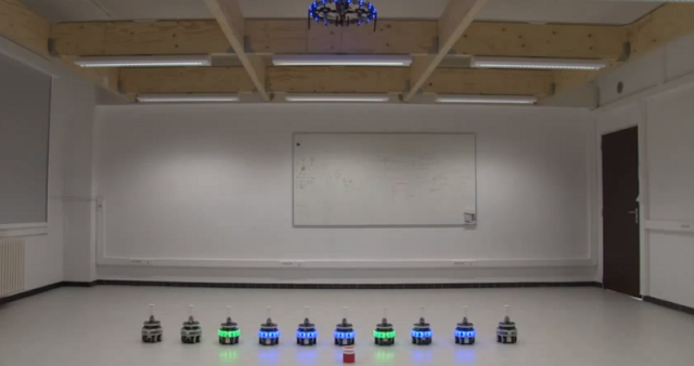 self-assembling swarm robotics