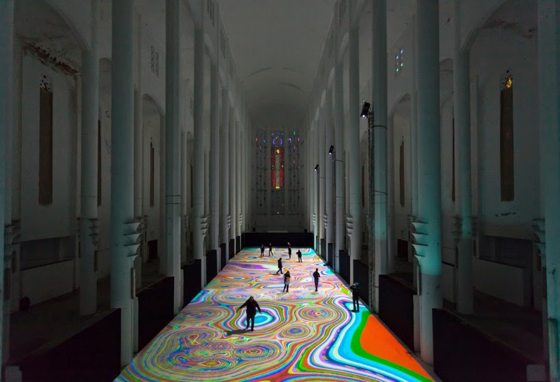 Nest of Pearls - Australian Design Blog - Miguel Chevalier - Magic Carpets 2014