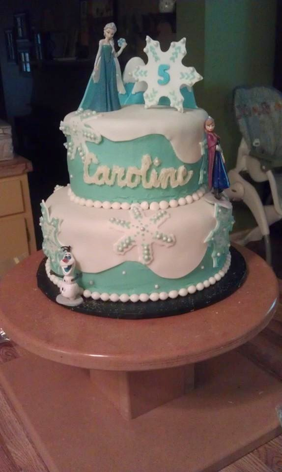 The Cake Box Girls Frozen Birthday Cake