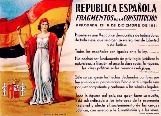 El voto de la mujer en la República. Republica