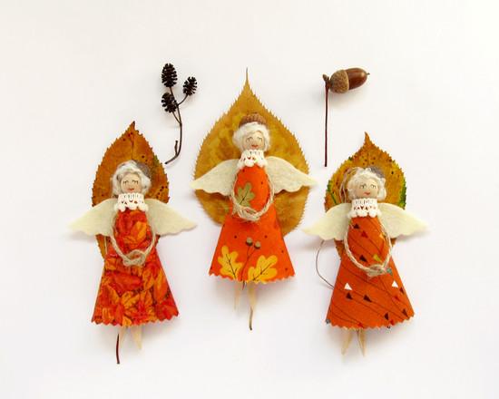 Angels, осенний декор