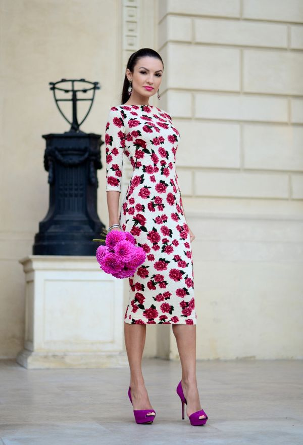 Zapatos casuales de moda color violeta | Zapatos