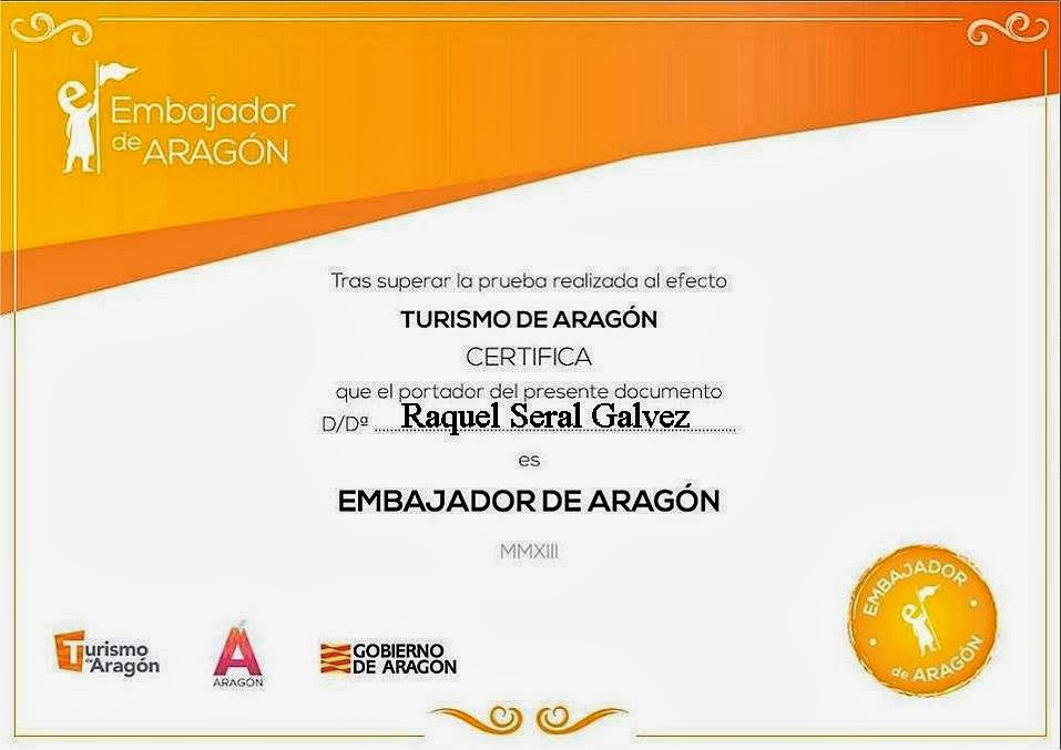 EMBAJADORA DE ARAGÓN