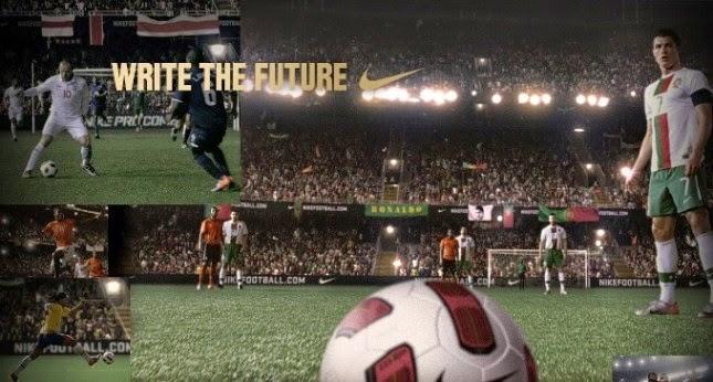 Nike, Escribe el futuro.