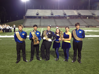 Marching Knights Perform at Troy Marching Band Festival 1