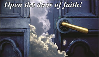 Open the door of faith!