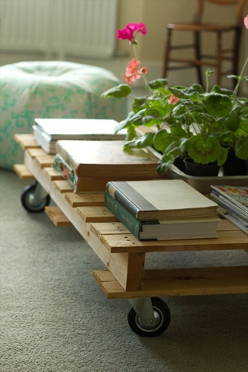 Diy pallets of wood 30 plans and projects pallet - Ideas para palets ...