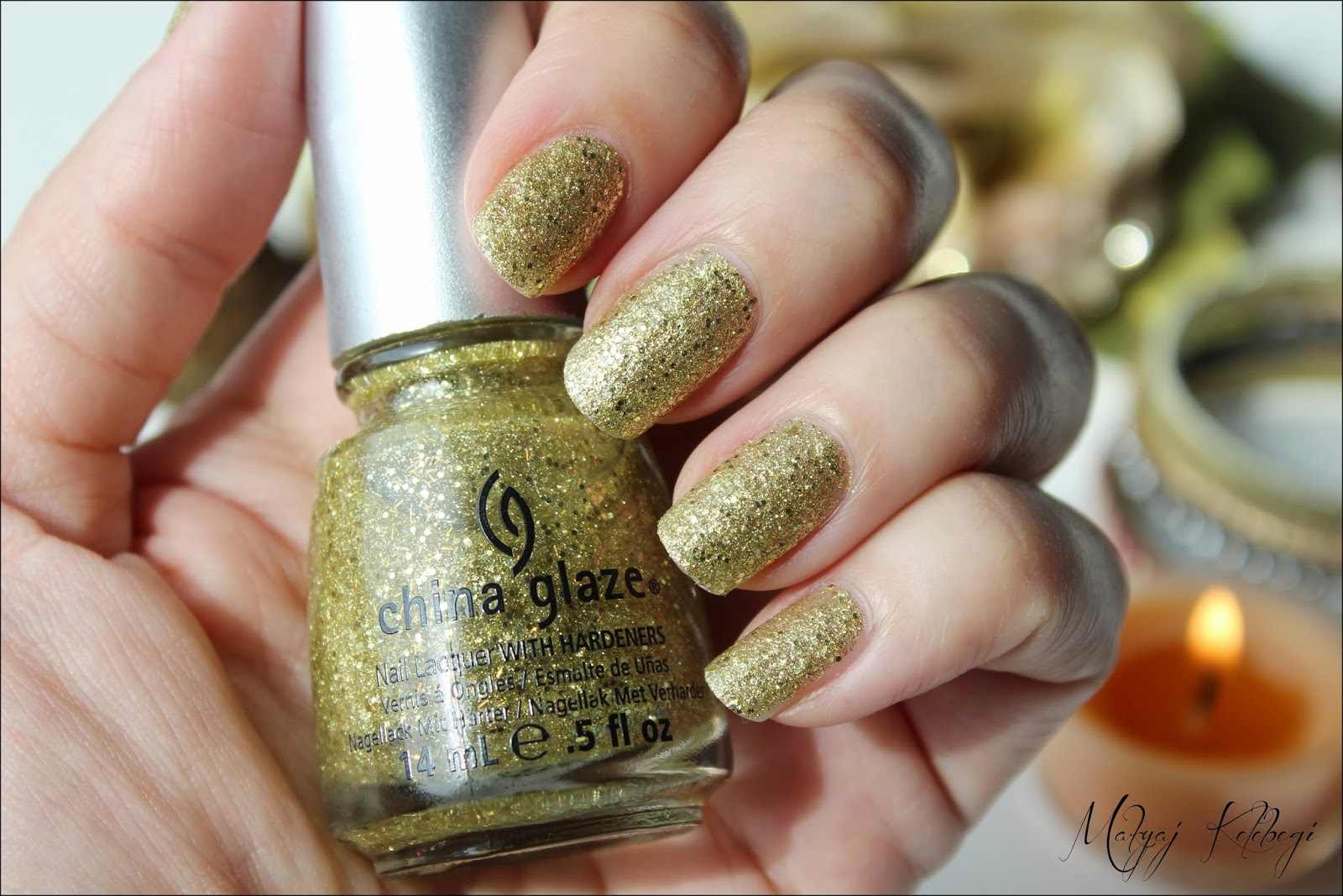 China Glaze Oje Blonde Bombshell