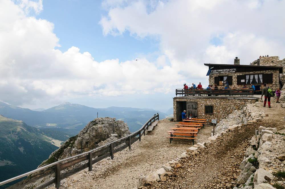 Latemarhütte bzw. Torre-di-Pisa-Hütte
