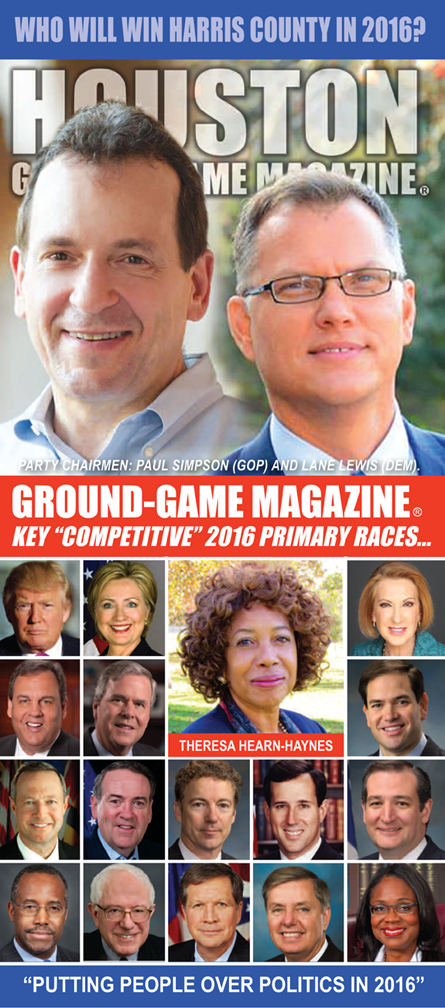 VOLUME 1 NO. 13 OF GROUND GAME MAGAZINE FEATURING PAUL SIMPSON AND LANE LEWIS ON THE COVER
