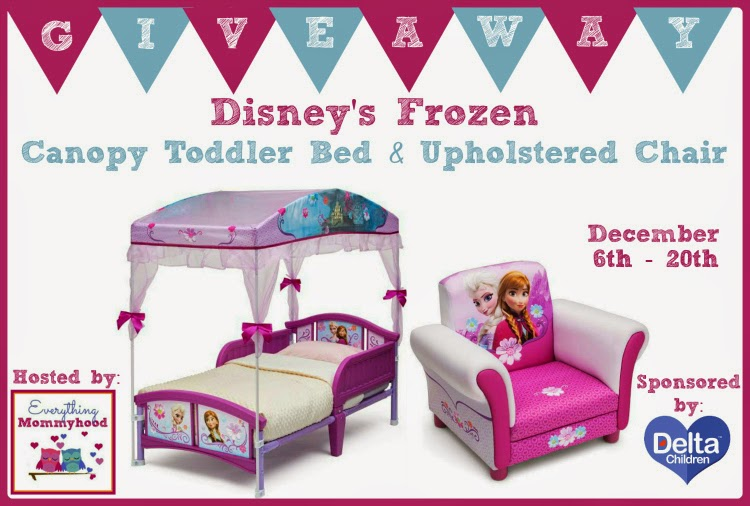 Sparkle Me Pink: FROZEN Canopy Bed & Chair GIVEAWAY ! Ends ...