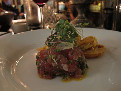Tuna Tartare in Town Hall SF