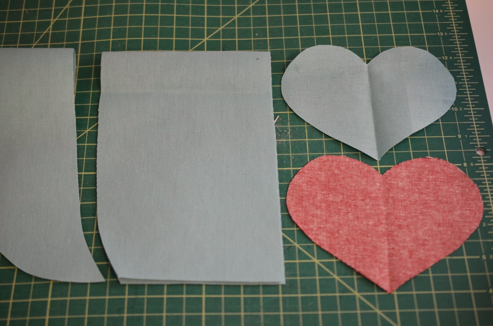 Pandas free reverse applique heart tutorial