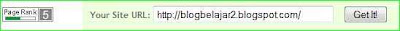 cara pasang daftar buat gadget pagerank di blog