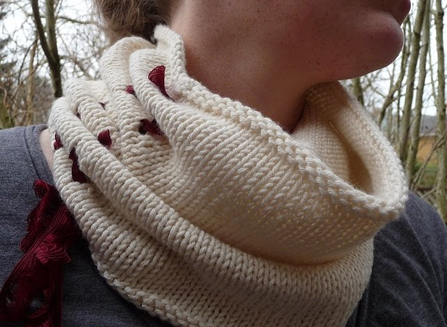 Ruched Cowl Knitting Pattern : close knit: Something For You
