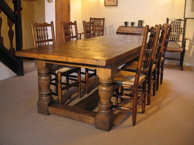 stół debowy do jadalni