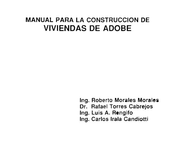 Construccion en tierra pdf free download programs for Manual de construccion de piscinas pdf
