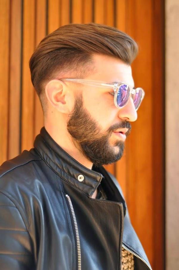 Célèbre Papillon: Capelli rasati ai lati e barba: taglio capelli uomo UL23