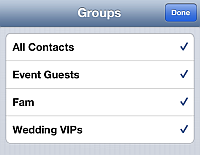 iphone contacts delete groups