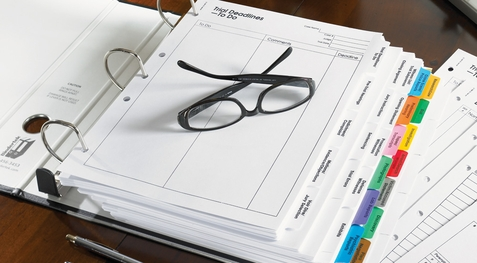 11 Steps to Preparing Your Trial Notebook -