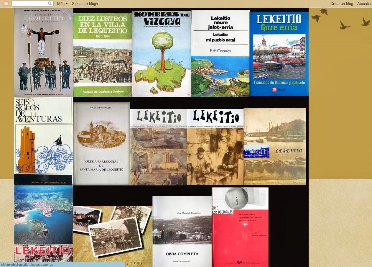 Lekeitioko Bibliografia