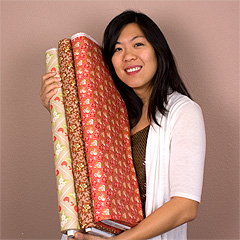 Fat Quarter Shop's Jolly Jabber: 3 for Me: Jocelyn Lai