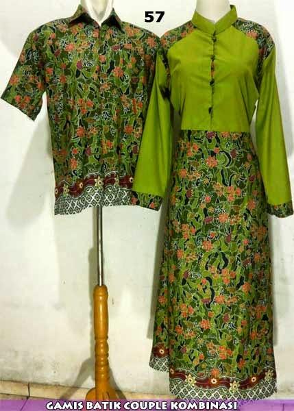 baju batik muslim keluarga