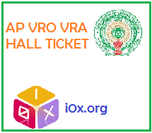 AP VRO VRA HALL TICKET DOWNLOAD 2014