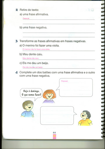 Jornal R 7ª Atividades De Português Para 0 2º Ano Ou Antiga