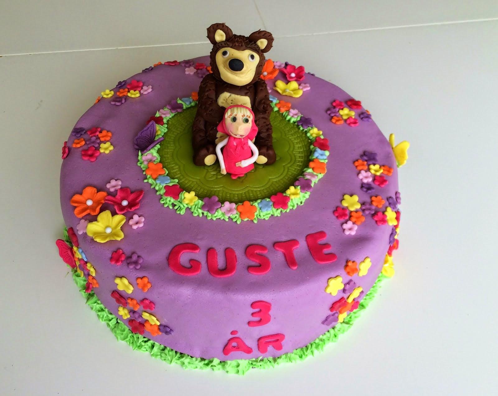 Masha & Björnen tårta
