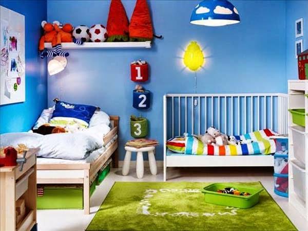 ديكورات غرف أطفال
