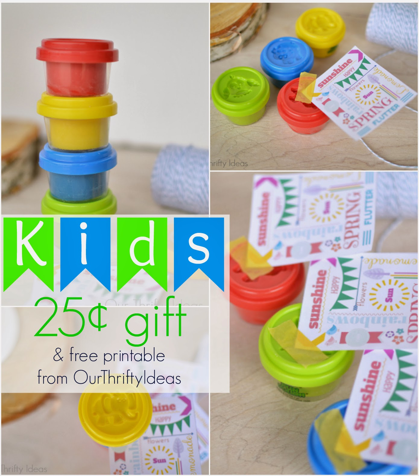 kid's gift and free printable