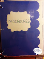 Procedures Divider Page from Miss, Hey Miss!