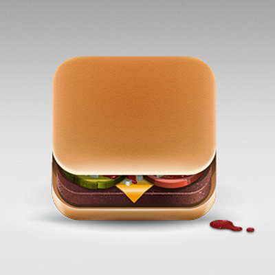 Julian Burford, iconos para apps de comida