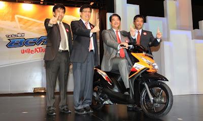 Honda Beat FI :Spesifikasi , Warna dan Harga