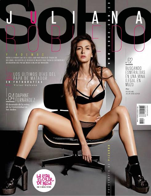 Juliana Robledo Revista SoHo Colombia Julio 2015 + PDF 1