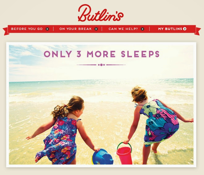 Boo Roo and Tigger Too: Butlins - Only 3 more sleeps! #ButlinsAmbassadors