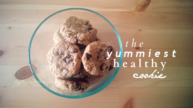 the yummiest healthy cookie